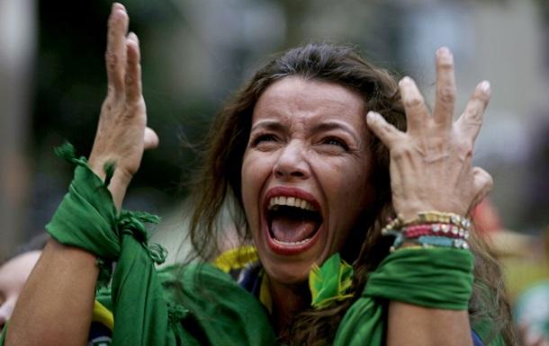Больше, чем боль. Истерика бразильских фанатов после матча с Германией