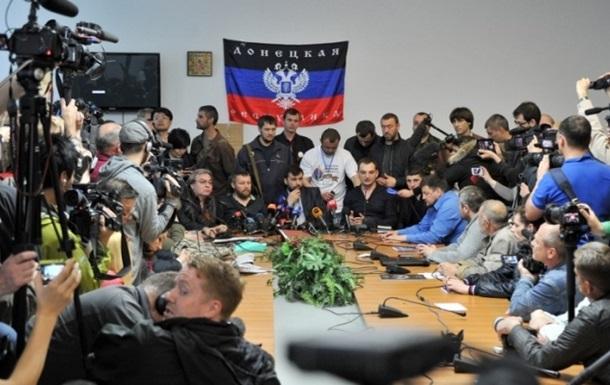 Киев не будет вести переговоров с ДНР и ЛНР
