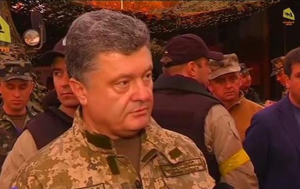 О чем говорил Порошенко в Славянске: видеоподборка