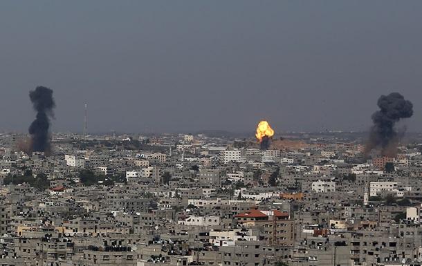 ВВС Израиля нанесли авиаудар по югу сектора Газа