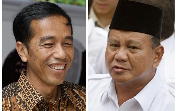 В Индонезии результаты опросов не дали ответа, кто победитель президентских выборов