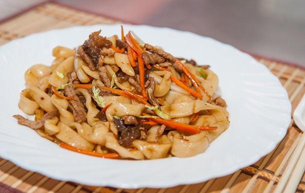 Лапша со свининой по-китайски: рецепт