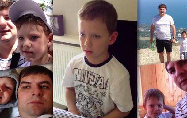 Сын похищенного мэра Горловки обратился к отцу - видео