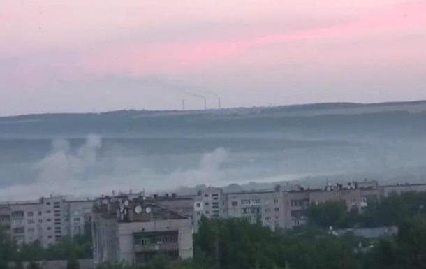 В Луганске сепаратисты обстреляли жилые кварталы - спикер АТО
