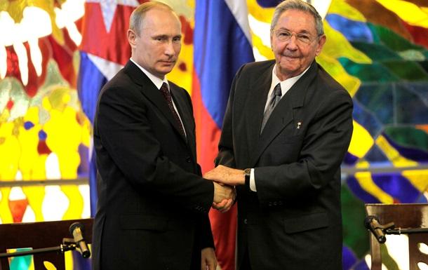 Путин на Кубе договаривался о торгово-экономических связях и ГЛОНАССе