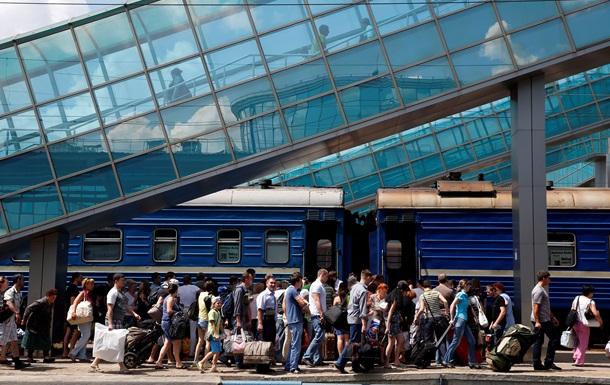 Официально Донбасс за время проведения АТО покинули 40 тысяч человек