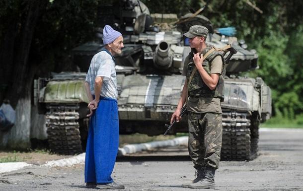 СНБО: Украинские войска не вели стрельбу по российской территории