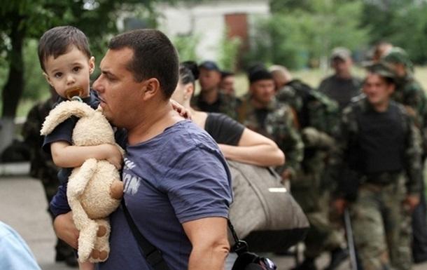 В России заявляют о 24 тысячах украинских беженцев