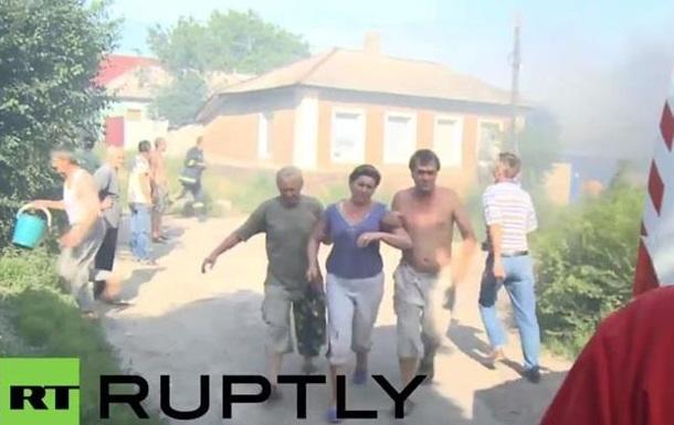 Жилые районы Луганска попали под интенсивный обстрел: есть жертвы