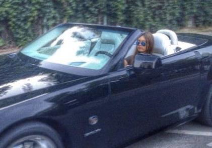 Внучка Ющенко за рулем. Законы - для быдла