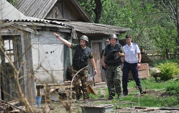 Нацгвардия опровергает обвинения в обстреле российского Донецка