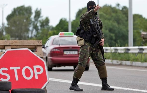 В центре Донецка расстреляли микроавтобус - СМИ