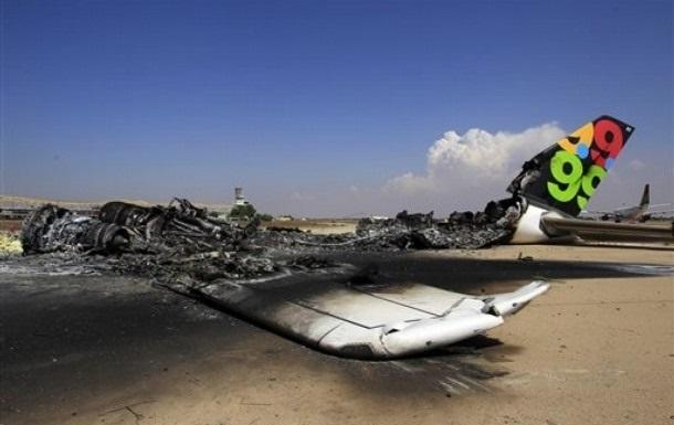 Ракетный обстрел уничтожил 90% самолетов в аэропорту Триполи