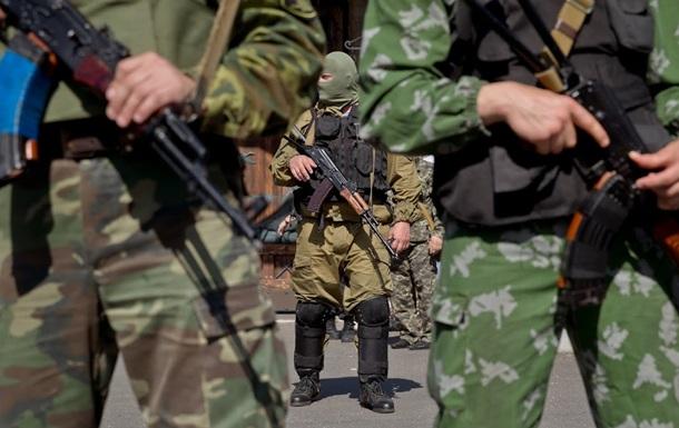 В Марьинке захватили райотдел милиции