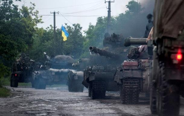 В ЛНР заявляют, что украинские военные покидают позиции около Луганска
