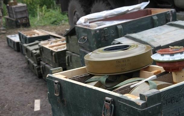 В Константиновке обнаружили цех по изготовлению боеприпасов