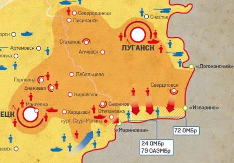 Изваринский котел - первое поражение Украины в гражданской войне