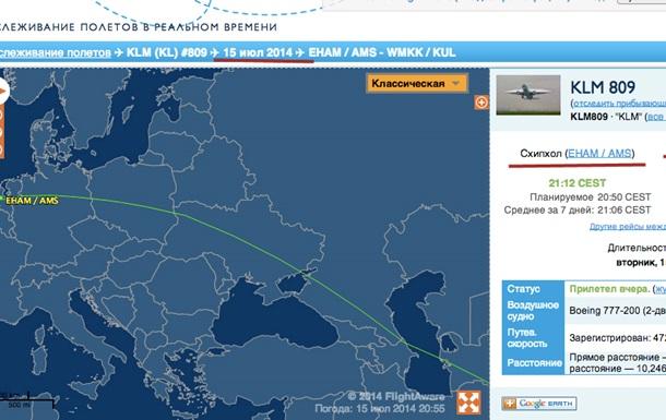 Почему малазийский Боинг полетел не тем маршрутом?
