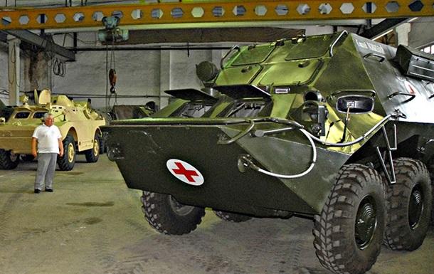 Украинские разработчики выпустили бронированную машину  скорой помощи