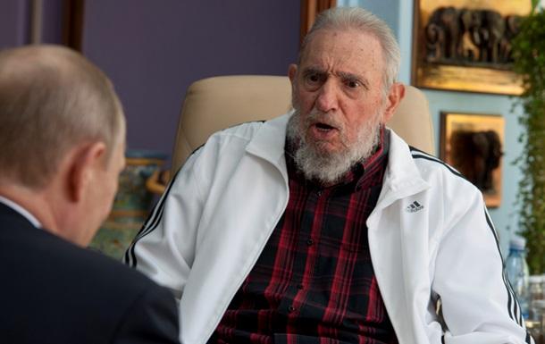 Фидель Кастро обвинил Украину в крушении Боинга-777 под Донецком