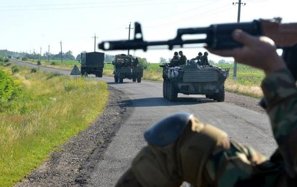 Ночью под Артемовском погибли трое бойцов Нацгвардии