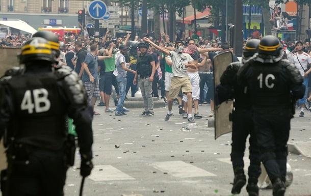 В Париже протестуют против израильских ударов по Газе