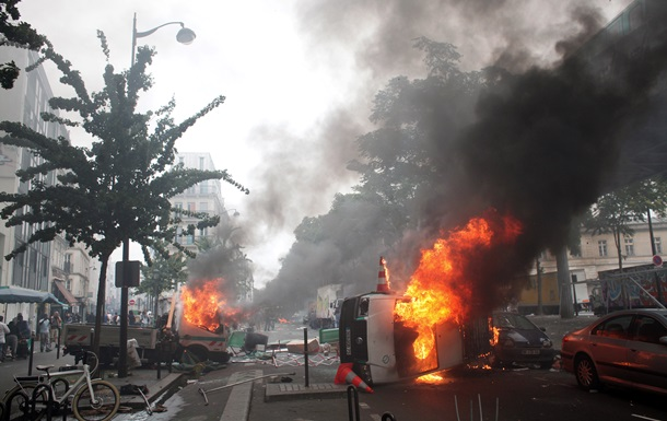 Акция в Париже в поддержку Палестины завершилась беспорядками