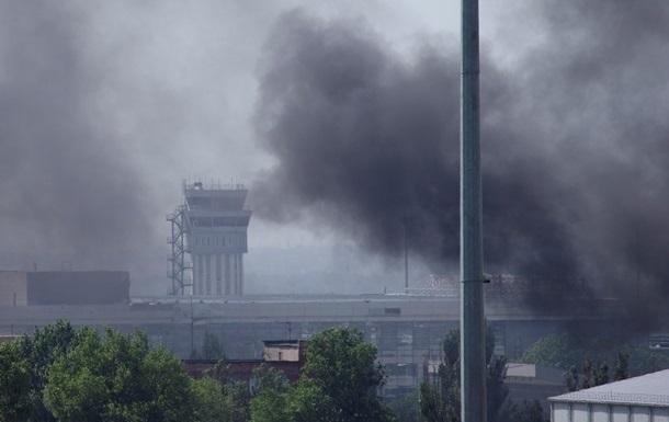 В Донецке ночью были слышны перестрелки и взрывы