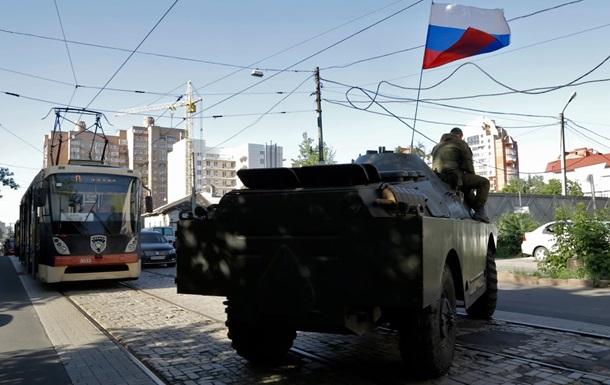 Из России переправлена тяжелая боевая техника - СНБО