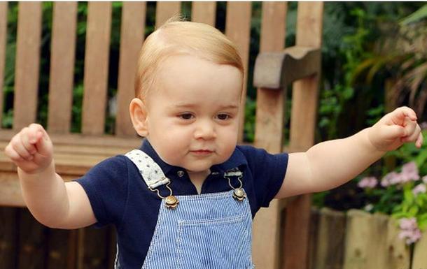 Обнародован официальный фотопортрет принца Джорджа