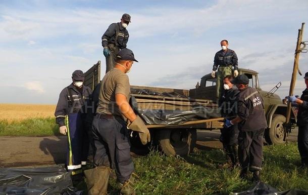 Опубликованы новые фото и видео с места падения Боинга