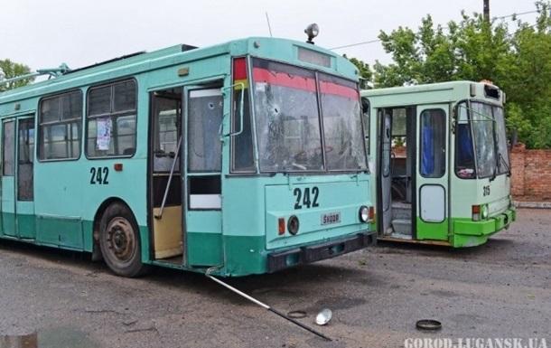 В Луганске перестали ходить трамваи и троллейбусы