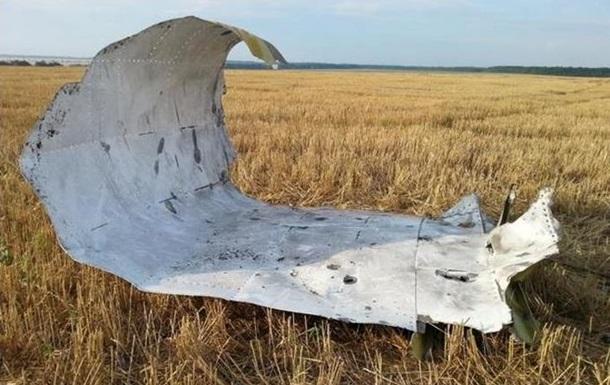 Обломки Боинга под Донецком