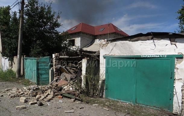 Обстрел Донецка.  Еще утром я не был сепаратистом...  (фото, видео)