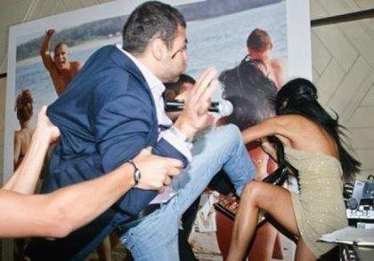 В Турции украинские туристы подрались с россиянами.