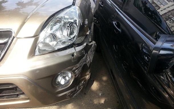 На парковке суда в Одессе сбили милиционера