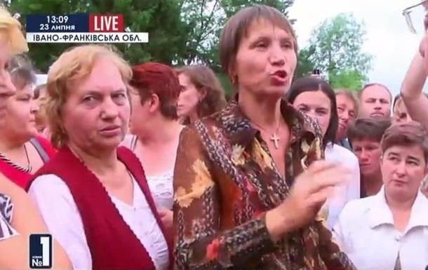 На Прикарпатье протестуют родственники призывников