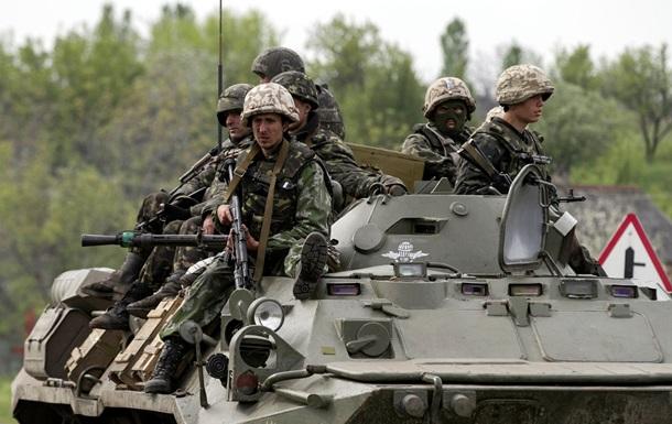 Возле Амвросиевки взорвали БРДМ-2 сил АТО - Тымчук