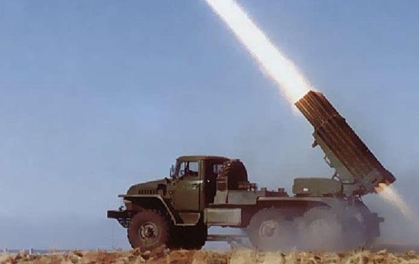 На территории Донецкого военного училища обнаружили установки  Град