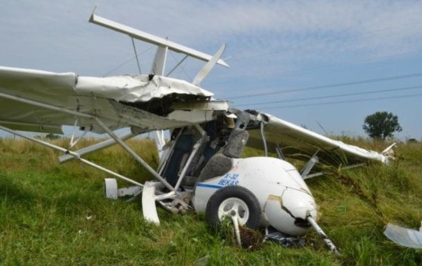 Во Львовской области разбился самолет