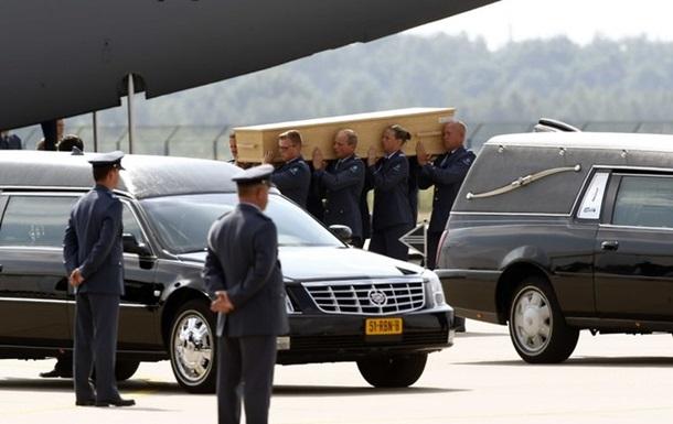В Нидерланды доставили последние тела жертв крушения Боинга