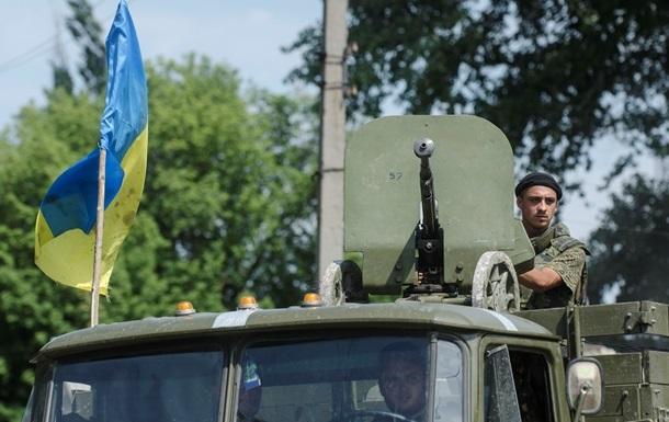 Украинская армия вошла в Дебальцево - соцсети
