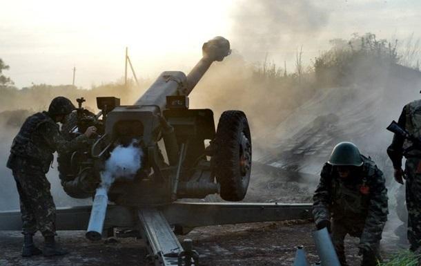 В двух районах Донецка снова слышны залпы орудий – горсовет