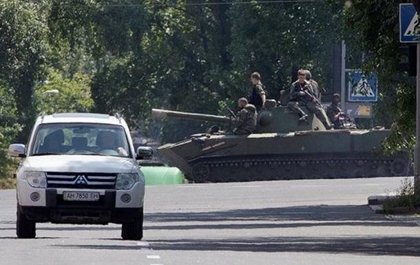 В Донецке стрельба в районе аэропорта - горсовет