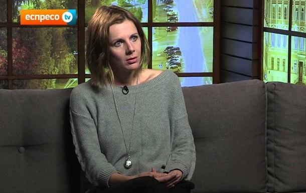 В зоне АТО тяжело ранена корреспондент Еспресо TV