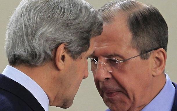 Лавров и Керри обсудили прекращение огня на Донбассе