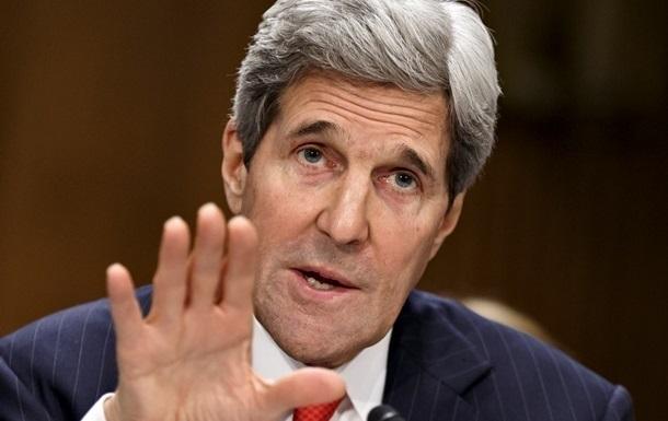Керри призвал Россию остановить поставки вооружения в Украину