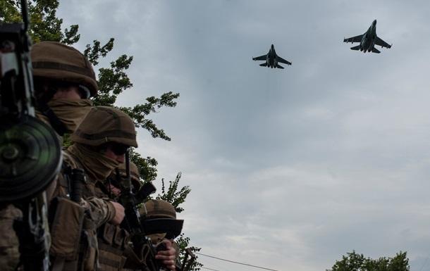 Украинская авиация нанесла ряд ударов по сепаратистам - пресс-центр АТО