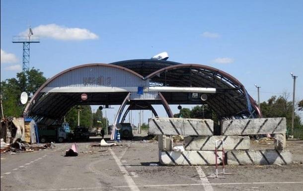 Обстрелян пункт пропуска  Красная Таловка  в Луганской области - и.о. губернатора