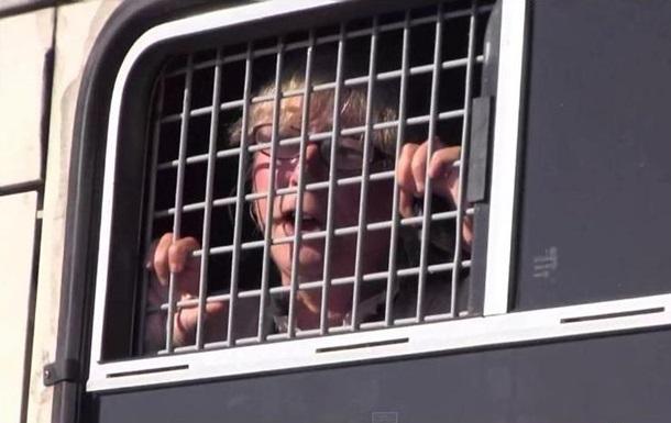 В Москве полиция задержала участников акции  Мы с тобой, Украина